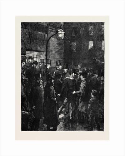 Whitecross Street Prison, London, 1870 by Anonymous