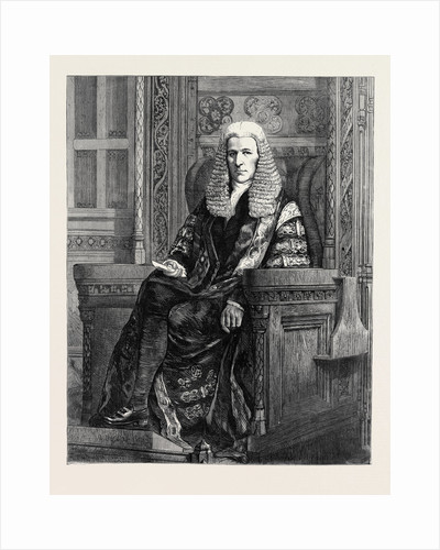 The Right Honourable the Speaker of the House of Commons, 1870 by Anonymous