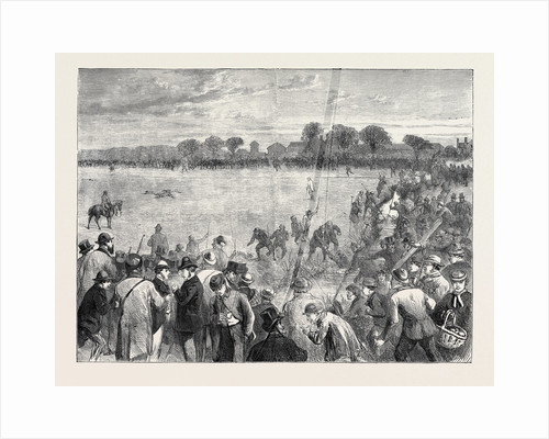 Coursing at Altcar, 1870 by Anonymous
