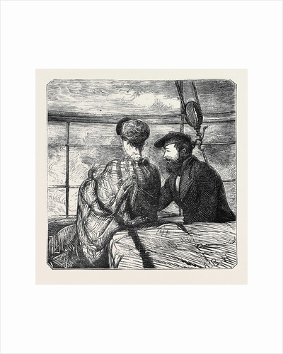 On the Atlantic Steamer: Moonshine, 1870 by Anonymous