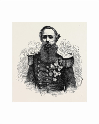 Captain Cowper Phipps Coles, 1870 by Anonymous