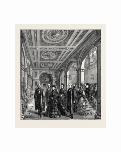 The Opening of the London University Buildings, Arrival of the Queen, 1870 by Anonymous