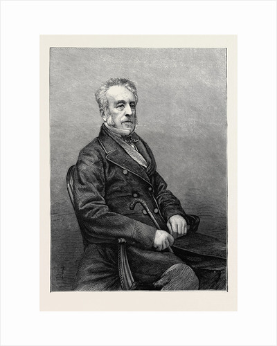 George Grote, D.C.L., F.R.S., Vice-President of the London University, 1870 by Anonymous