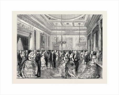 Festivities at Fishmongers' Hall, the Court Dining Room, 1870 by Anonymous