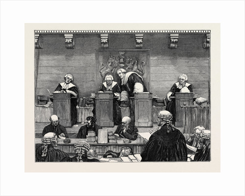 The Court of Queen's Bench, 1870 by Anonymous