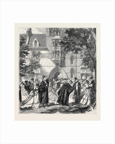 Oxford Commemoration, Show Sunday, 1870 by Anonymous