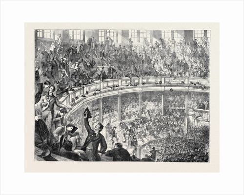Oxford Commemoration, the Theatre from the Undergraduates' Gallery, 1870 by Anonymous