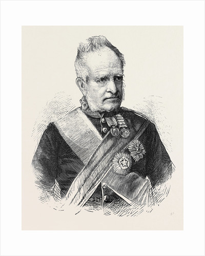 Field Marshal Sir G. Pollock, G.C.B., 1870 by Anonymous