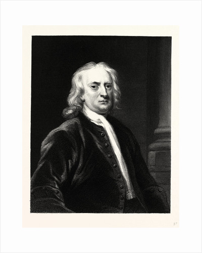 Sir Isaac Newton by Anonymous