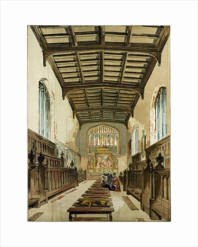 St. John's College Chapel Cambridge Cambridge University UK by Anonymous