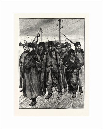Siberia: Criminal Prisoners on the March by Anonymous