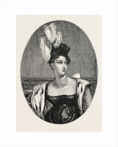 The Princess Charlotte Augusta, 1796 - 1817. Daughter of George, Prince of Wales and Caroline of Brunswick. by Anonymous