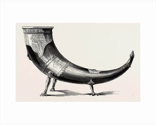 An Ancient Drinking Horn by Anonymous