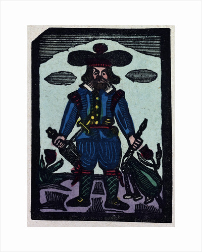 Illustration of English Tales Folk Tales and Ballads. A Man Wearing Blue Clothes by Anonymous