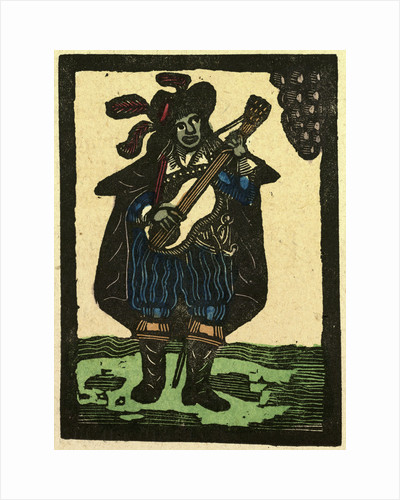 Illustration of English Tales Folk Tales and Ballads. Musician by Anonymous