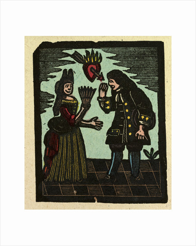 Illustration of English Tales Folk Tales and Ballads. Love by Anonymous