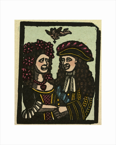 Illustration of English Tales Folk Tales and Ballads. Two People in Love by Anonymous