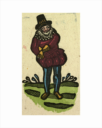 Illustration of English Tales Folk Tales and Ballads. A Man Wearing Colourful Clothes by Anonymous