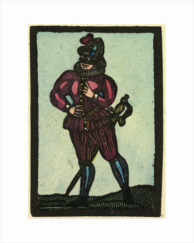 Illustration of English Tales Folk Tales and Ballads. A Man Wearing Red Clothes by Anonymous