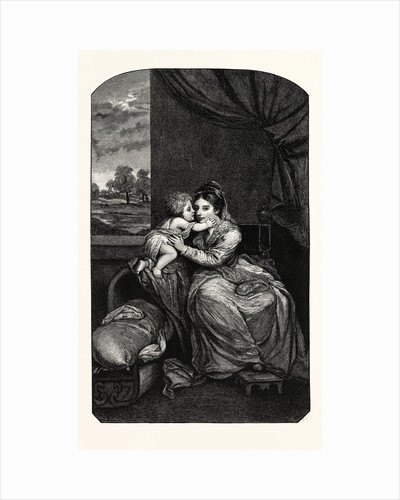 Lady Melbourne and Child by Anonymous