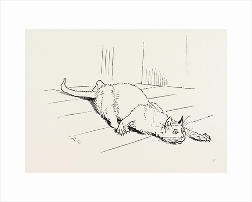 The Cat that Ate the Rat, 19th Century by Anonymous