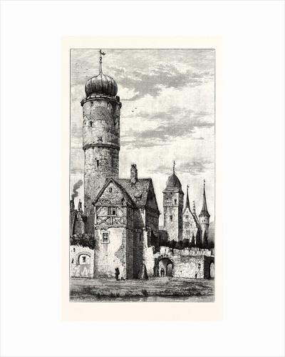 Watch Tower, Ochsenfurth, Bavaria, Germany by Anonymous