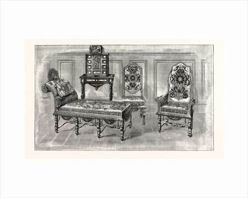 Chairs and Couch, Charles II., at Penshurst by Anonymous