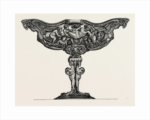 Silver Tazza. Sixteenth Century. Italian Work by Anonymous