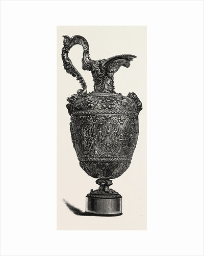 Silver-Gilt Ewer. Sixteenth Century. Augsburg Work, Germany by Anonymous