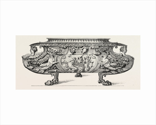 Silver Wine-Cooler. Sixteenth Century. Italian Work by Anonymous