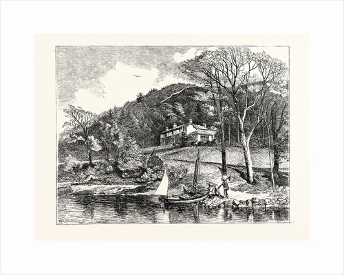 Mr. Ruskin's House, Brantwood by Anonymous