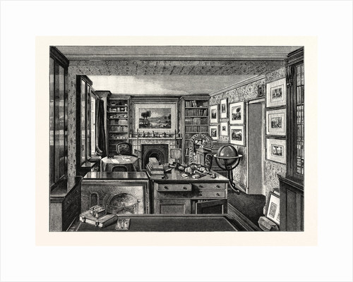 M. Ruskin's Study by Anonymous
