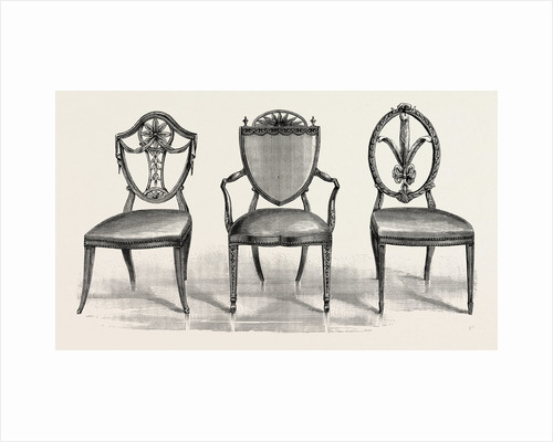 Chairs, 1789 by Anonymous