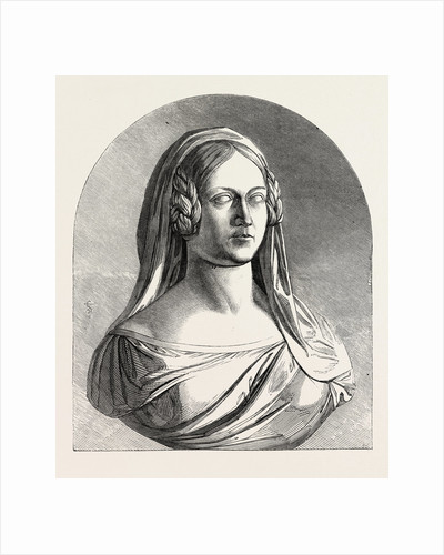 Bust of the Late Duchess of Kent, 1847 by Anonymous