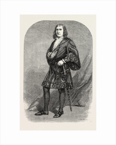 M. Fechter in the Character of Hamlet at the Princess' Theatre by Anonymous