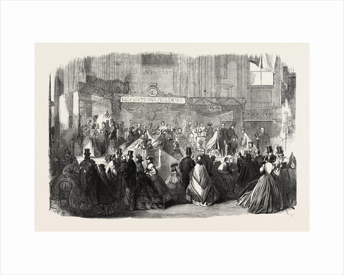 The Bazaar at St. James's Hall on Behalf of the Orphan and Friendless Roman Catholic Children of London UK by Anonymous