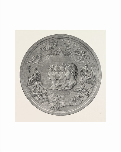 Pistrucci's Great Waterloo Medal: Obverse by Anonymous