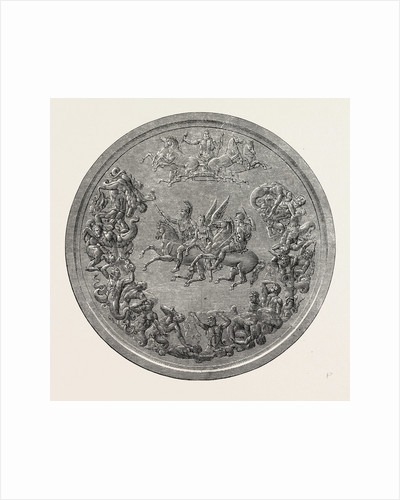 Pistrucci's Great Waterloo Medal: Reverse by Anonymous
