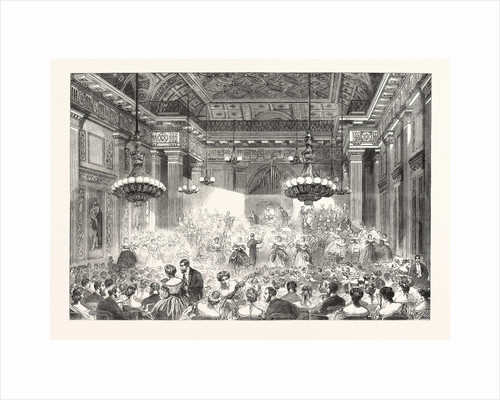 Amateur Performance by Nobility and Gentry at Freemasons' Hall Under the Leadership of the Hon. Seymour Egerton UK by Anonymous