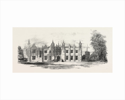 Hengrave Hall Suffolk the Seat of Sir Thomas R. Gage Bart. by Anonymous