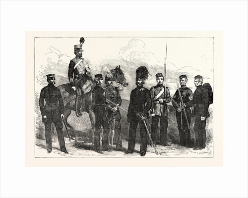 English Militia and Yeomanry Cavalry 1854 by Anonymous