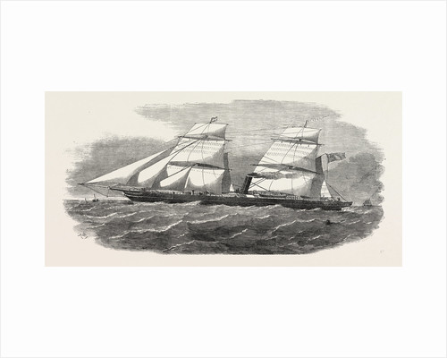 The New Screw Steamer Barwon 1854 by Anonymous