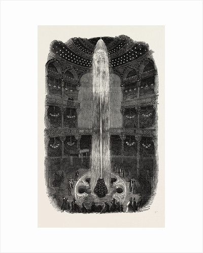 The Luminous Fountain at the Panopticon Leicester Square London 1854 by Anonymous