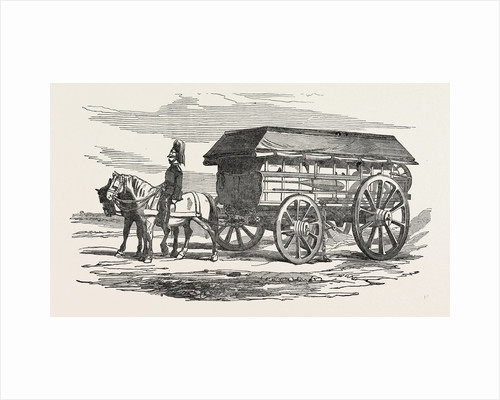 The Crimean War: Electric Telegraph for the Seat of War: The Waggon 1854 by Anonymous
