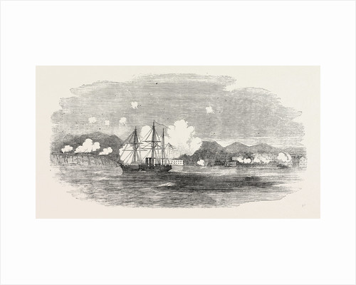 The Crimean War: The Valorous Chasing Russian Steamers Into Sebastopol 1854 by Anonymous