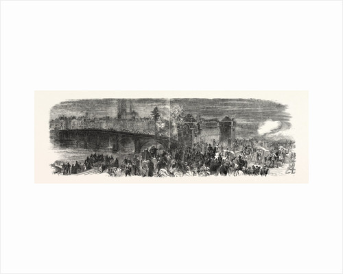 Fete of Joan of Arc at Orleans, 6th of May, 1855 by Anonymous