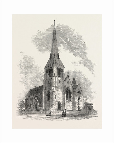 New Church of St. Mark, Albert Road, Regent's Park, London, 1853 by Anonymous