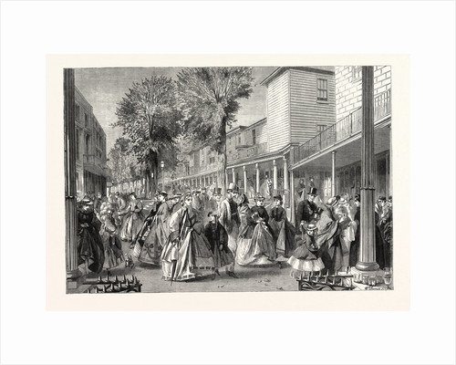 The Promenade on the Pantiles, Tunbridge Wells, Kent, UK, 1864 by Anonymous