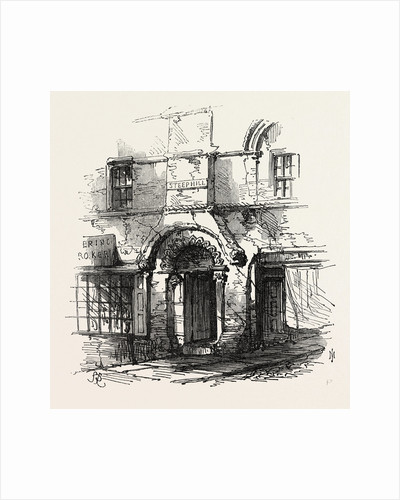 Lincoln: The Jews' House, UK, 1869 by Anonymous