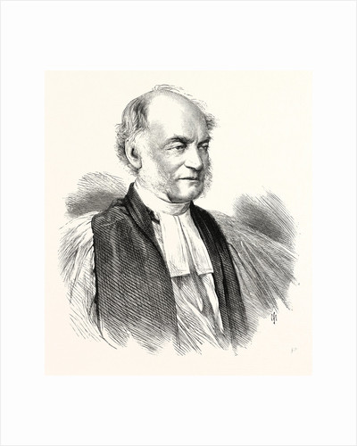 The Right Rev. Dr. Moberly, Bishop of Salisbury, 1869 by Anonymous